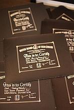 Disney Miscellaneous & Obscure 19 x BBFC Certificates