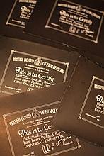 Disney Miscellaneous & Obscure 3. 20 x BBFC Certificates