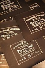 Disney Miscellaneous & Obscure 2 20 x BBFC Certificates
