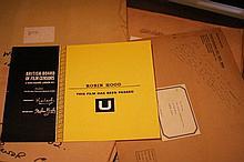 Disney Collection 9 x  Colour BBFC Certificates