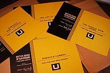 Donald Duck/Miscellaneous 8 x  Colour BBFC Certificates