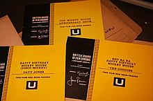 Mickey Mouse 3 x  Colour BBFC Certificates