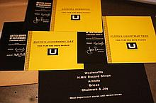 Pluto/Related A collection 3 x  Colour BBFC Certificates