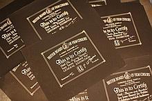 Disney Location/Miscellaneous 9 x BBFC Certificates