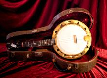 George Harrison & George Formby Owned/Played Banjo