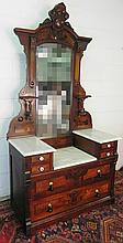 EASTLAKE MARBLE TOP CHEST