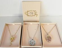 LOT OF 3 KIRKS FOLLY NECKLACES