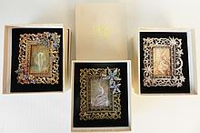 LOT OF 3 KIRKS FOLLY PICTURE FRAMES