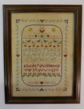 ALPHABETIC AND PICTORAL SAMPLER