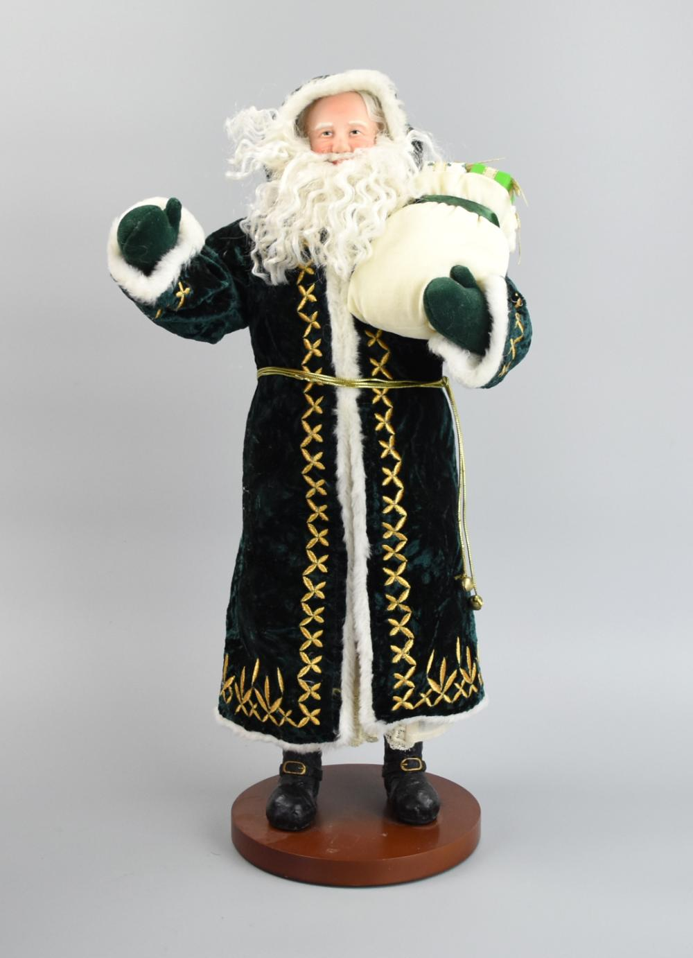 Sold Price Waterford Irish Splendor Santa Figurine April 1 0120 10 30 Am Edt