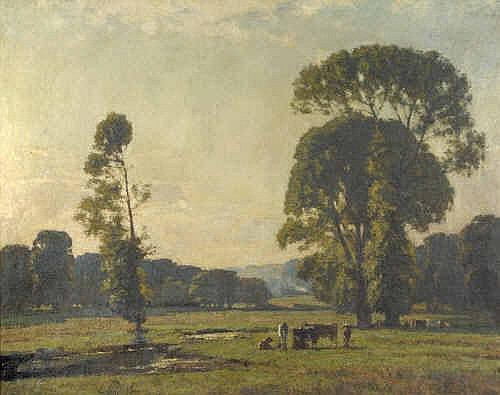 Oil Painting: Edward King (fl.c.1900-1930)