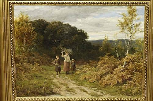 Oil Painting: Edith Holmes (ex.1892) Children