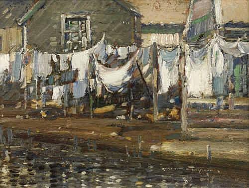 Oil Painting: Kershaw Schofield (1872-1941)