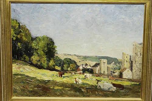 Oil Painting: Reginald Grange Brundrit R.A.,
