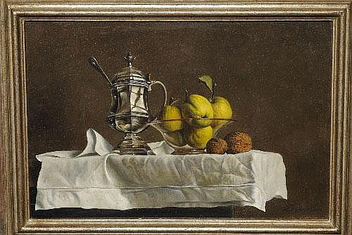 Willem Dolphyn (b.1935) Belgian Still life of