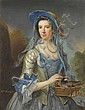 George Knapton (1698-1778) Portrait of Mrs Knight,, George Knapton, Click for value