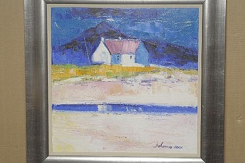 John Lowrie Morrison (b.1948) Scottish coastal
