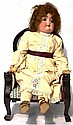 German Bisque Socket Head Doll impressed '4', with