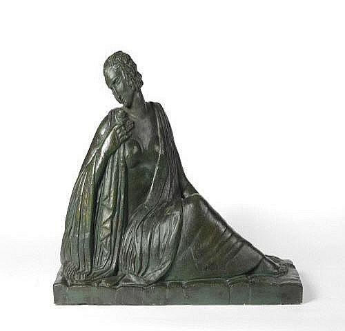 Oscar de Clerck (Belgian 1892-1968) A Plaster