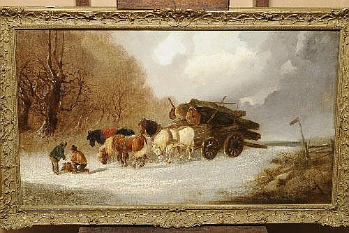 Harden Sidney Melville (fl.1837-1881) Figures