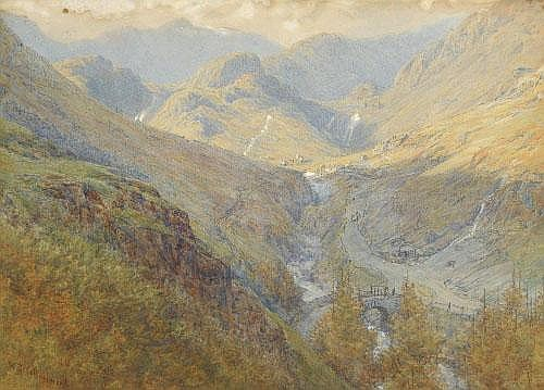William Gershom Collingwood (1854-1932) Coniston