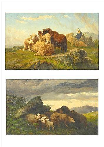 Oil Painting: August Friedrich Albrecht Schenck