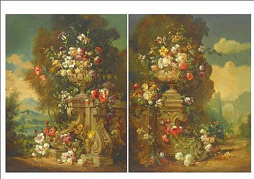 Oil Painting: Francesco Bosso (1864-1933) Italian