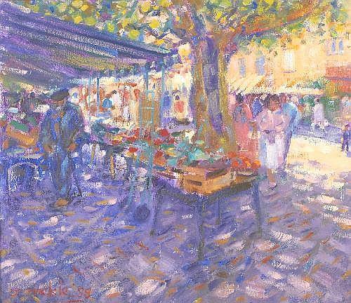 Oil Painting: John Mackie (b.1955)