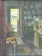 Oil Painting: Frank Bramley R.A., N.E.A.C., Frank Bramley, Click for value