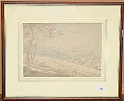 Circle of Thomas Sunderland (1744-1828) Windermere