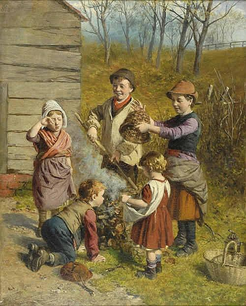 William Hemsley R.B.A. (1819-1906) Children