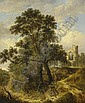 Robert Ladbrooke (1770-1842) Landscape with a, Robert Ladbrooke, Click for value
