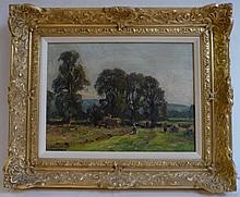 Herbert F. Royle (1878-1950) ''Near Swing Bridge,