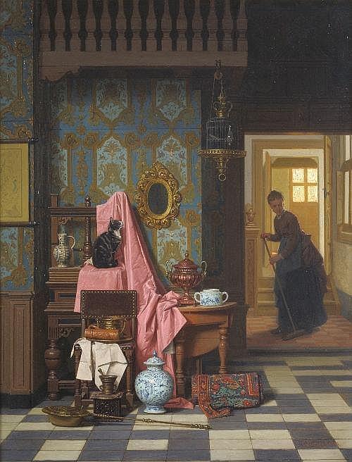 Charles Joseph Grips (1825-1920) ''Opportunity