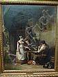 John Cawse (1779-1862) The Card-Players