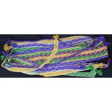 Beaded Native American Indian Wool Sash Great Lakes or Prairie