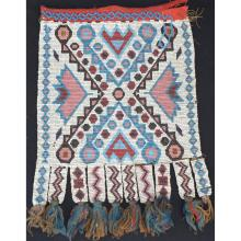 Native American Indian beaded panel from bandolier bag