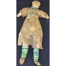 Beaded doll native american plains beadwork