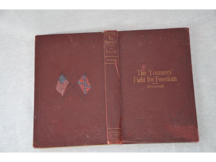 BOOK THE YOUNGERS FIGHT FOR FREEDOM, BRONAUGH