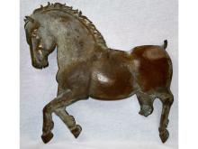 FOLK ART ANTIQUE WEATHERVANE HORSE ?