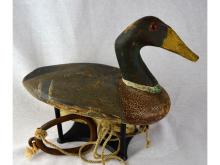 HERON LAKE DRAKE MALLARD DUCK DECOY JOE MARR