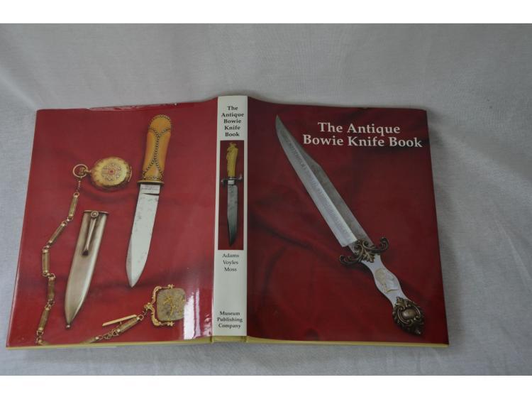 BOWIE KNIFE BOOK BY ADAMS VOYLES MOSS