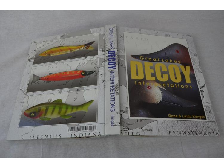 BOOK, GREAT LAKES DECOY INTERPRETATIONS, BY GENE & LINDA KANGAS