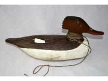 CIGAR DAISY HEN MERGANSER DUCK DECOY REFUGE WATERFOWL MUSEUM