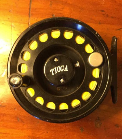 Tioga Fly Reel 3 1/2