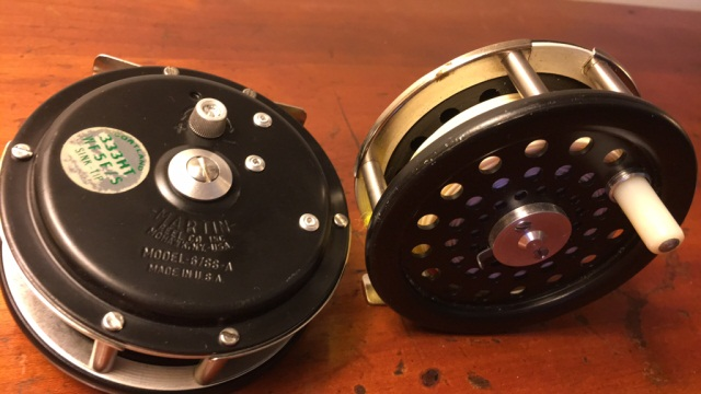 Lot of 2 Martin Fly Reels