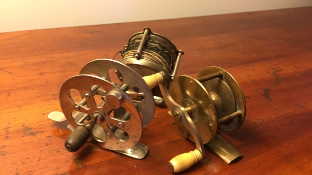 Lot of 3 Mixed Reels Brass, etc.