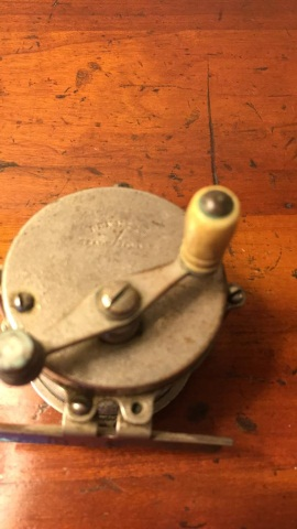 Antique Pennell Brass Reel 2
