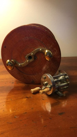 Lot of 2 Antique Reels