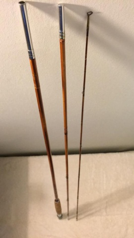 Antique Beaverkill Horrocks Split Bamboo Fly Rod